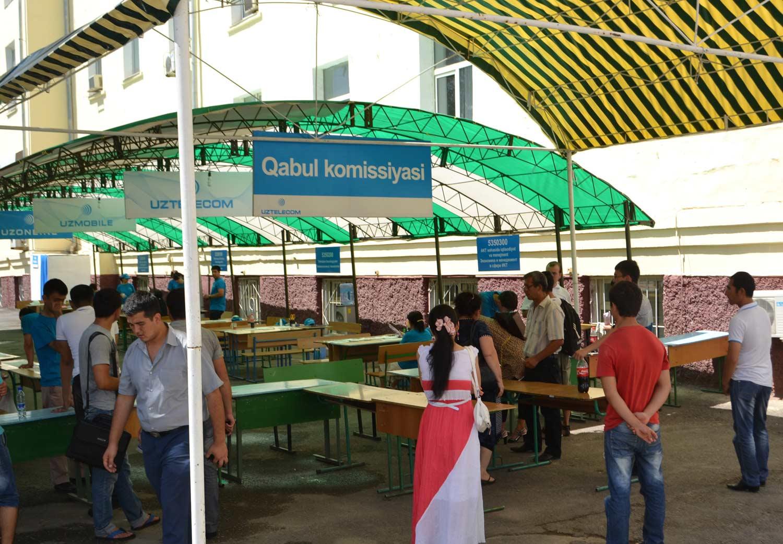 Абитуриент 2014: В Узбекистане начали свою работу приемные комиссии