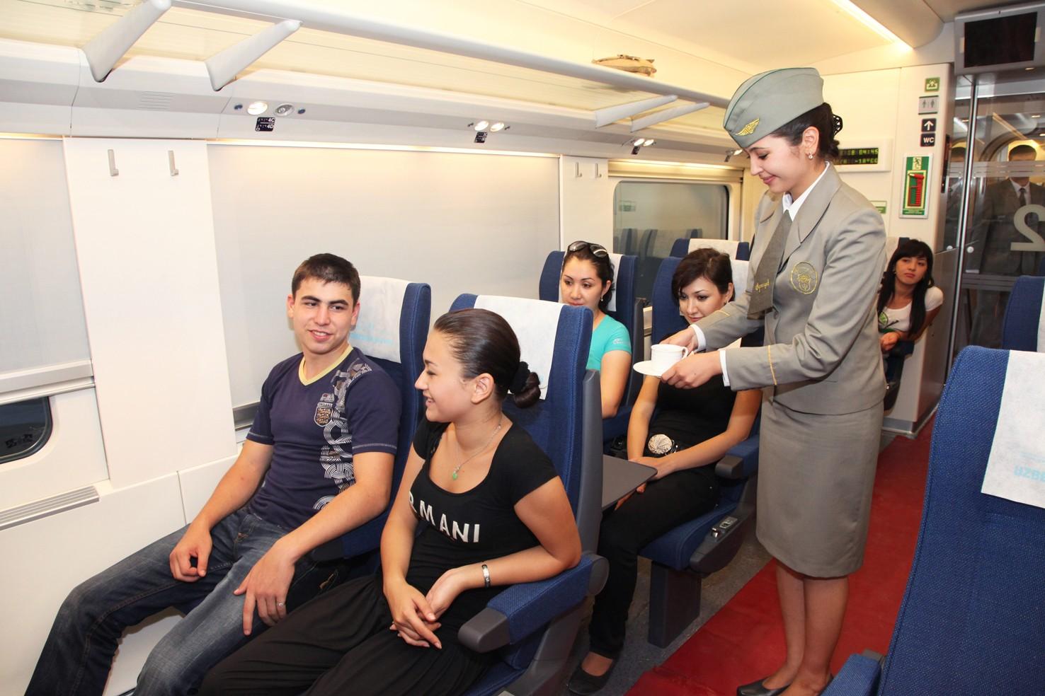 Получить документы на поезд в Ташкенте теперь можно прямо из дома