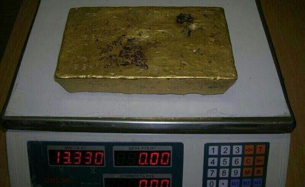 В Коканде в канализации нашли 13-килограммовый золотой слиток 100-летней давности