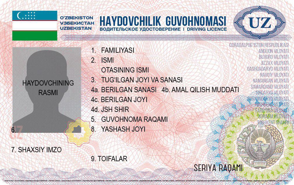 Водительские права будут удостоверять личность
