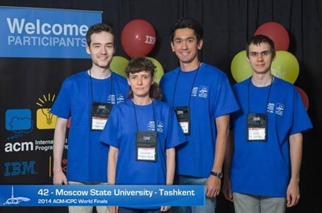 Команда из Узбекистана заняла 37-е место на чемпионате мира по программированию