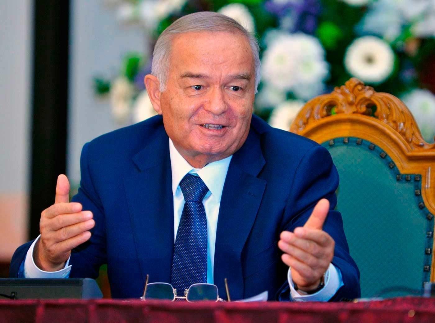 Президент Ислам Каримов посетил Фергану и ознакомился c работами по благоустройству города