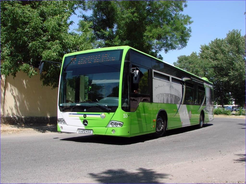 Йил охиригача Тошкентдаги барча автобуслар GPS-навигаторлар