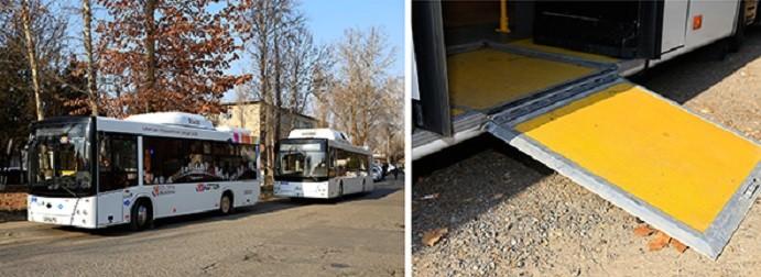 Автобусы из Белоруссии пройдут испытание на Ташкентских дорогах