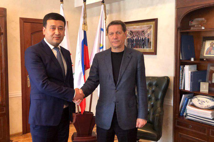 Узбекистан и Россия будут вместе готовиться к олимпиадам