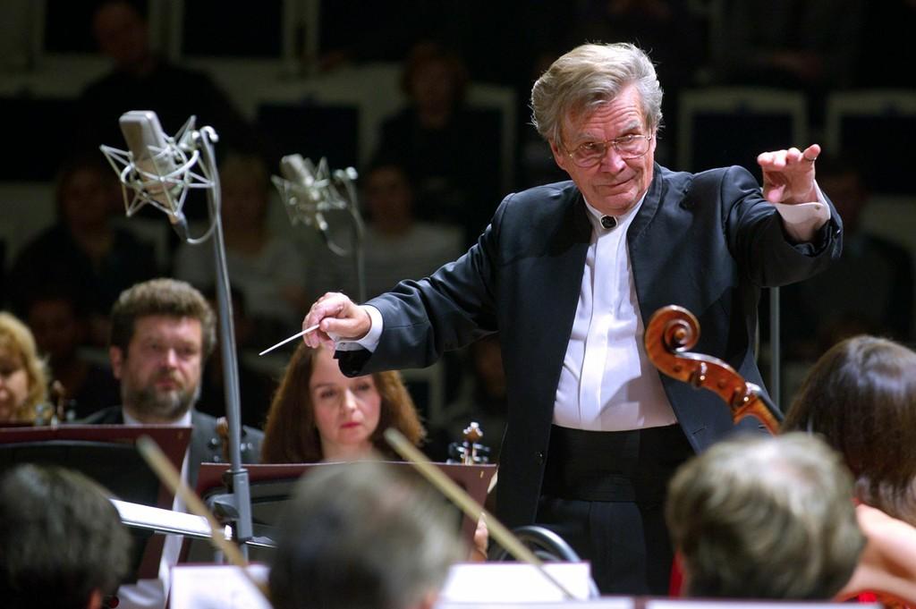 На сцене ГАБТа выступил Большой симфонический оркестр имени Чайковского