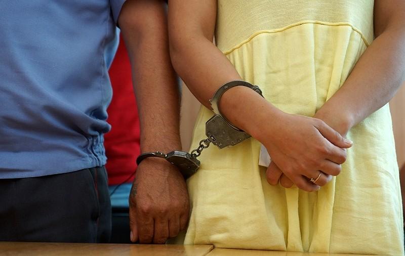 Задержана женщина