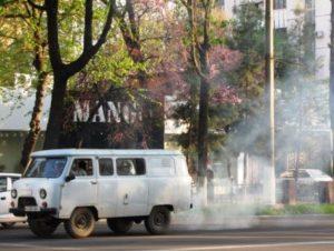 На каком месте Ташкент в списке экологически грязных городов?