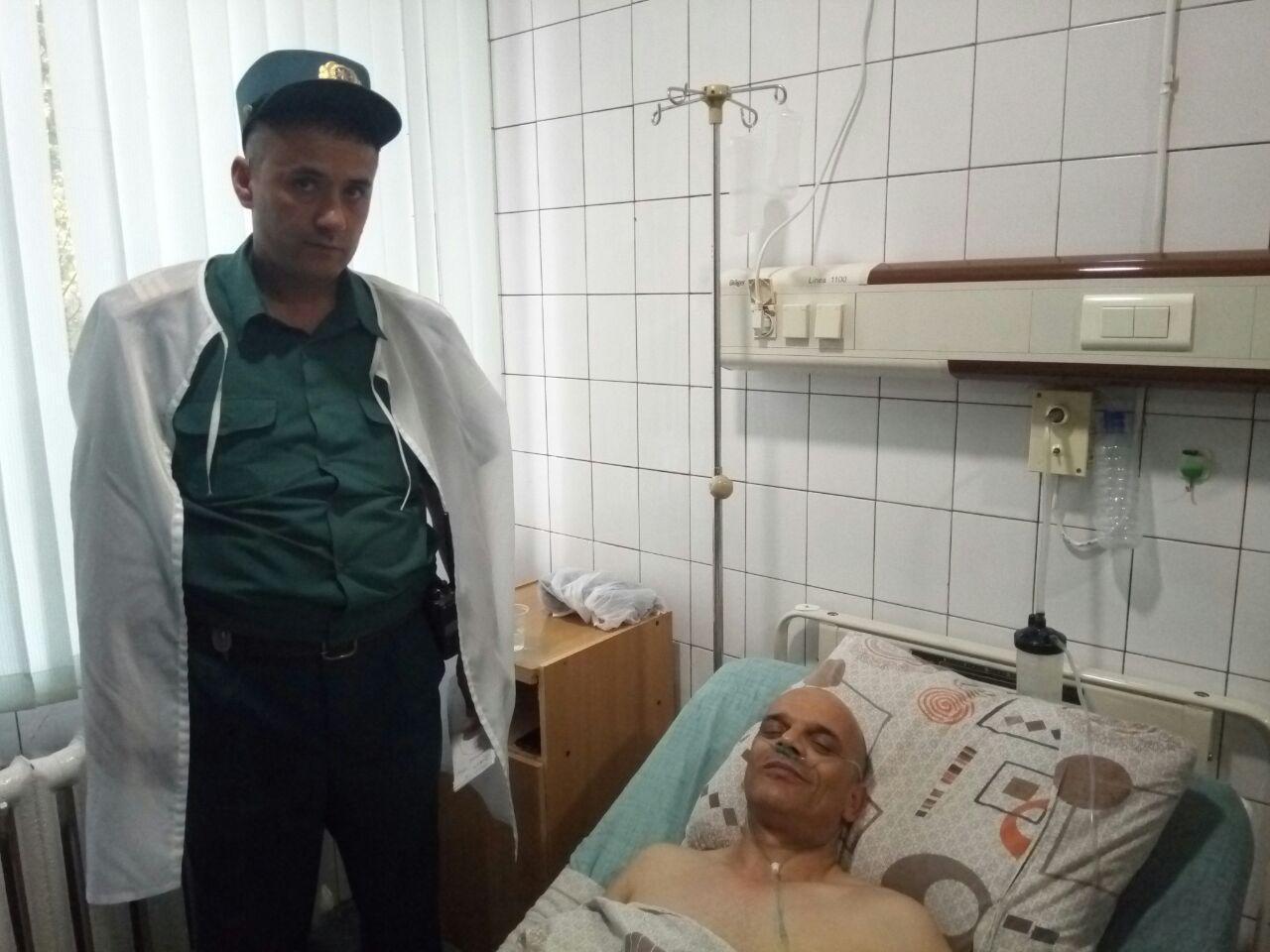 Сотрудник ППС Ташкента спас иностранца от инфаркта