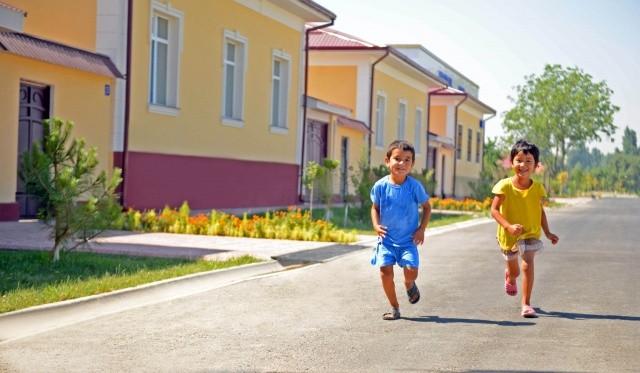 Махалля «Истиклол» в Ташкентской области как пример населенного пункта с типовыми домами