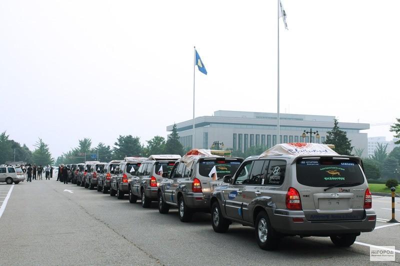 В Узбекистан прибудут участники автопробега «Россия – Корея 2014»