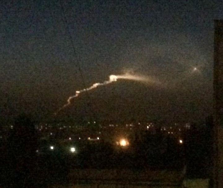 Вспышка над Ташкентом оказалась следом ракеты