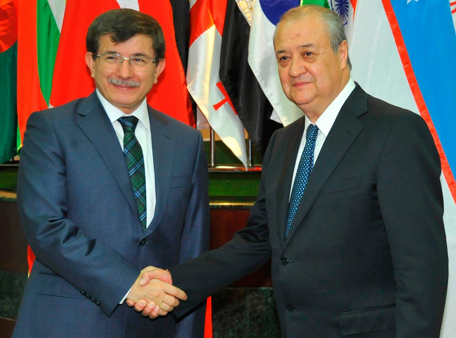 Ахмет Давутоглу: «Пока сильны Узбекистан и Турция