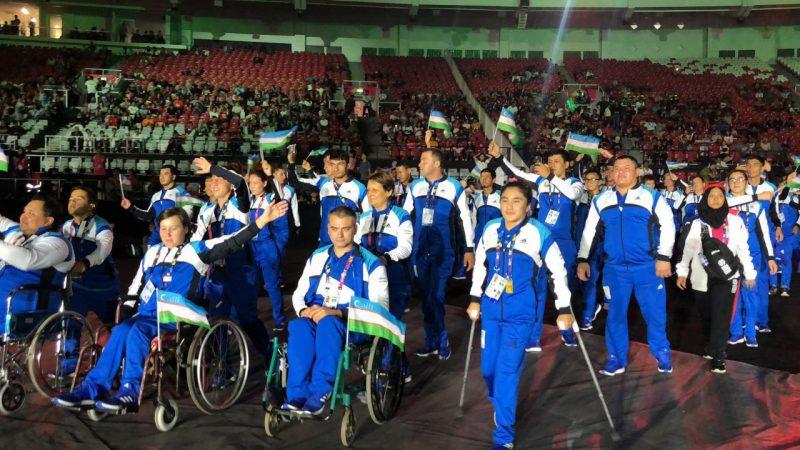 Спортсмены Узбекистана успешно стартовали на Параазиаде