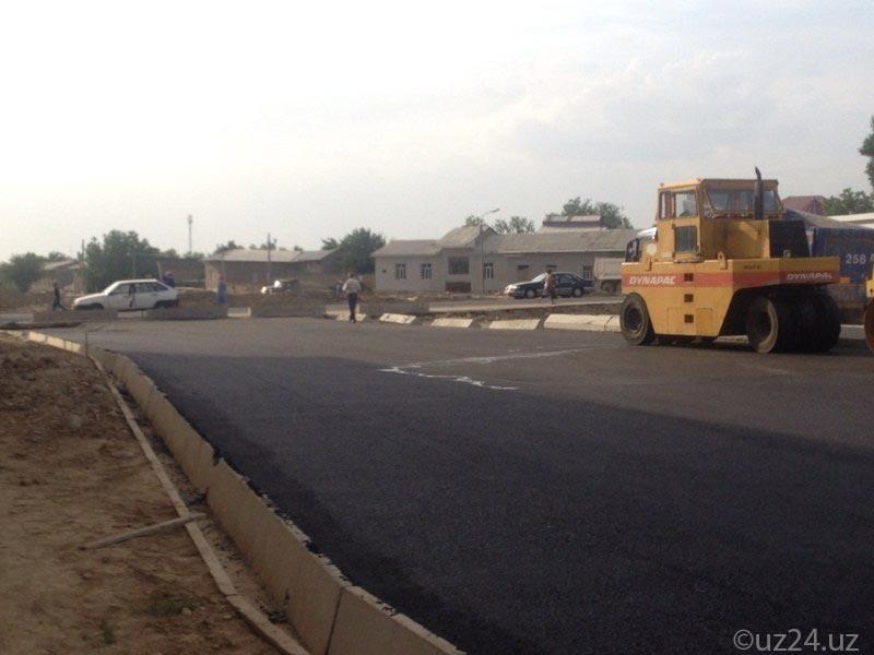 В Ташкенте ведется строительство новой обводной дороги