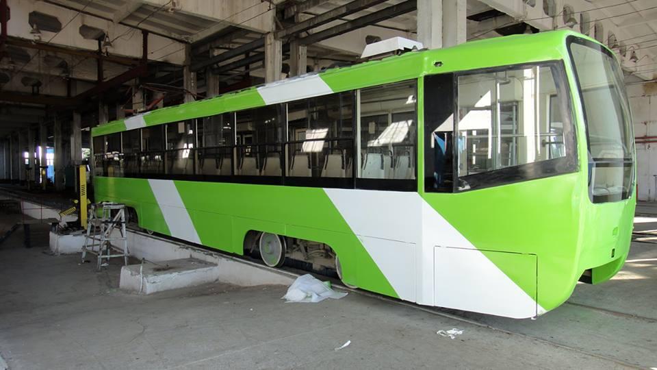 Трамваи в Ташкенте теперь будут выглядеть так же