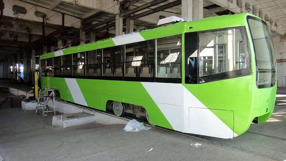 Энди Тошкент трамвайлари ҳам автобуслар рангида бўлади (фото)