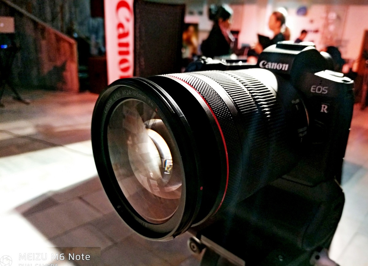 Canon презентовала новую полнокадровую беззеркальную камеру EOS R в Узбекистане