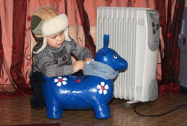 Дети замерзают в детсадах Самаркандской области
