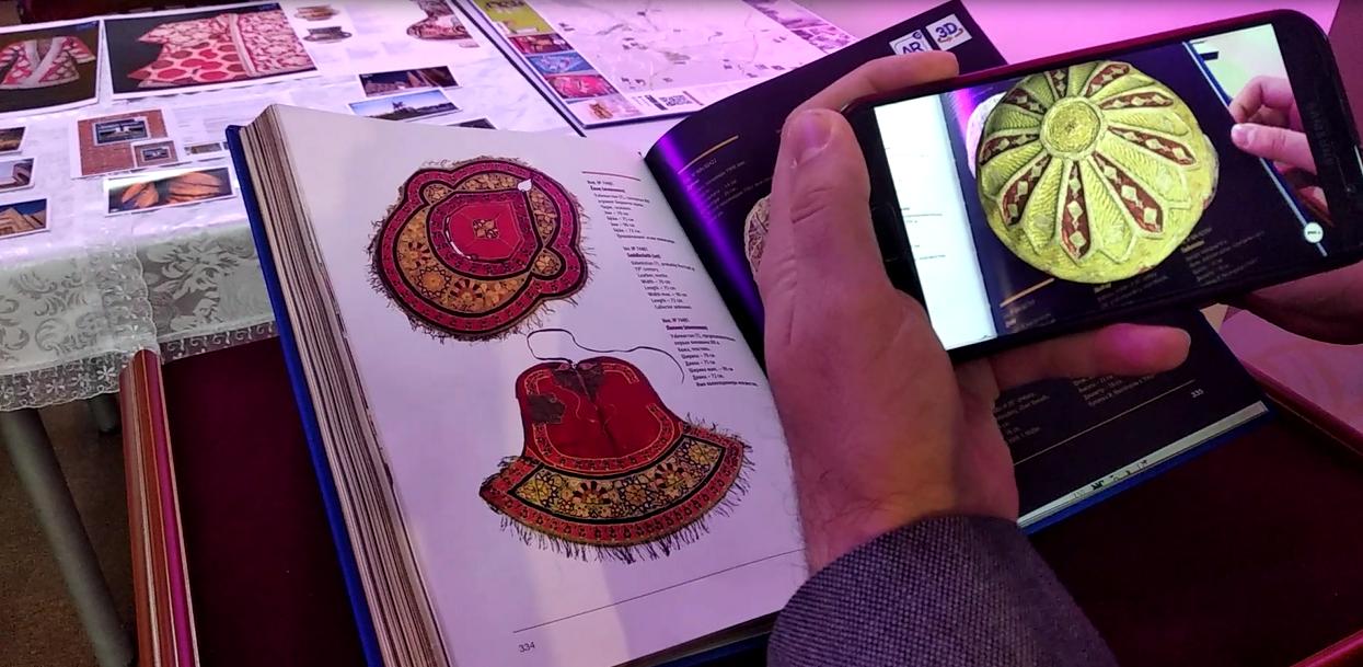 В Ташкенте издали первую книгу с эффектом дополненной реальности (видео)