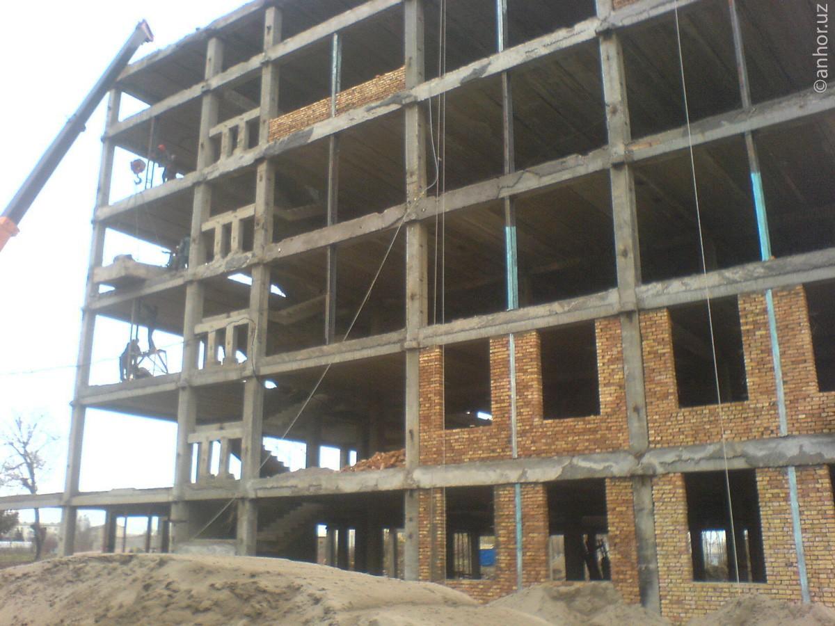 Оживший долгострой: как идет строительство нового здания НУУз