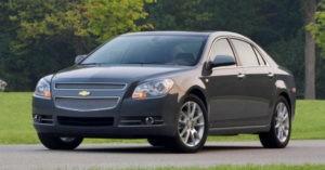Подержанные Chevrolet Malibu стоят дороже новых