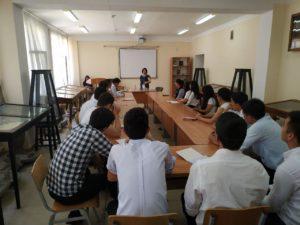 Профессор из Израиля прочитала лекцию студентам НУУз.