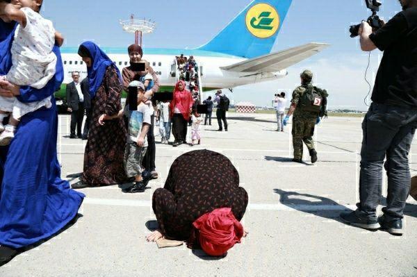 156 узбекистанцев эвакуированы из Сирии