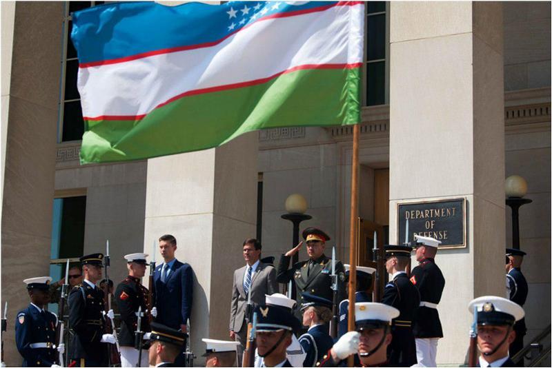 Наши в Пентагоне: итоги визита министра обороны генерал-майора Баходыра Курбанова в Америку