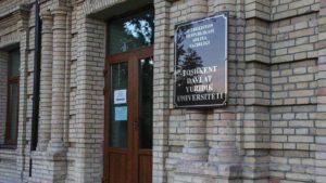 О ситуации в Ташкентском государственном юридическом университете