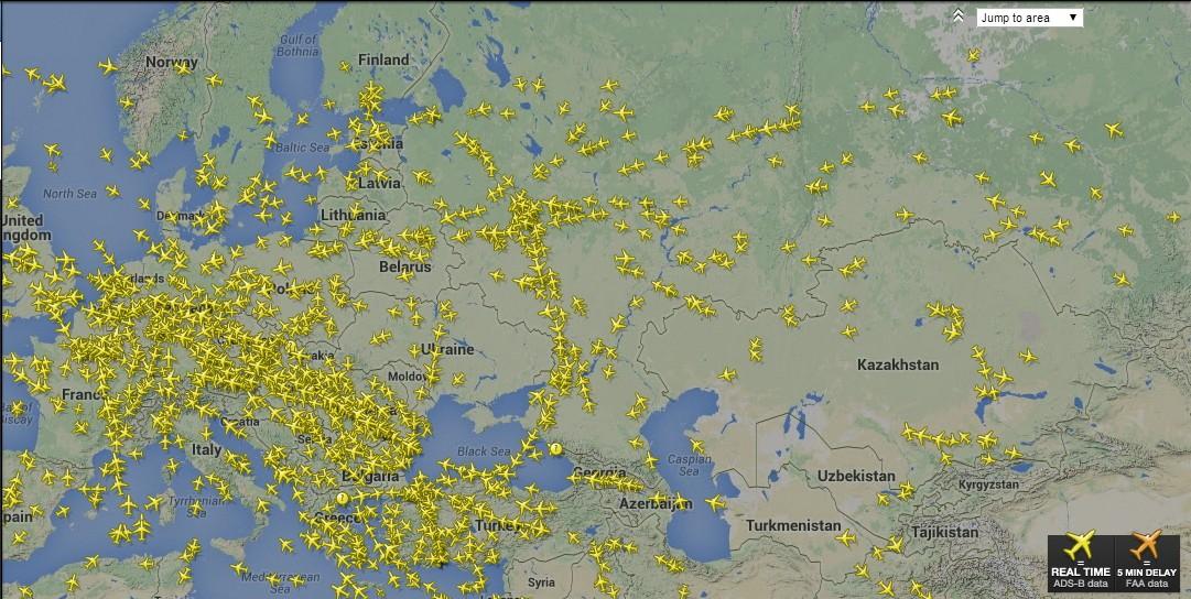 Самолеты «Узбекистон Хаво Йуллари» будут летать в Европу в обход Украине