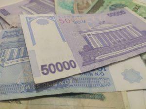 Об обороте наличных денег в Узбекистане