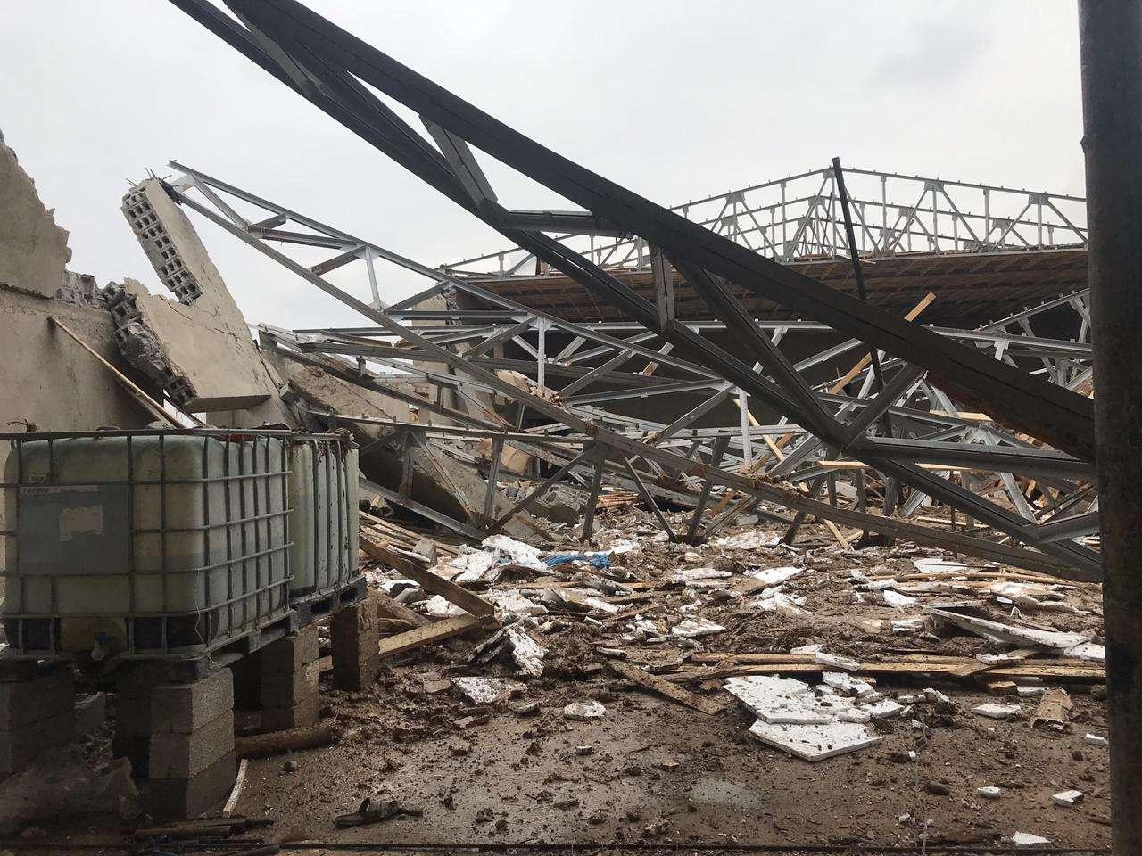 Двое рабочих из Узбекистана попали в реанимацию из-за обрушения строящегося здания в Шымкенте