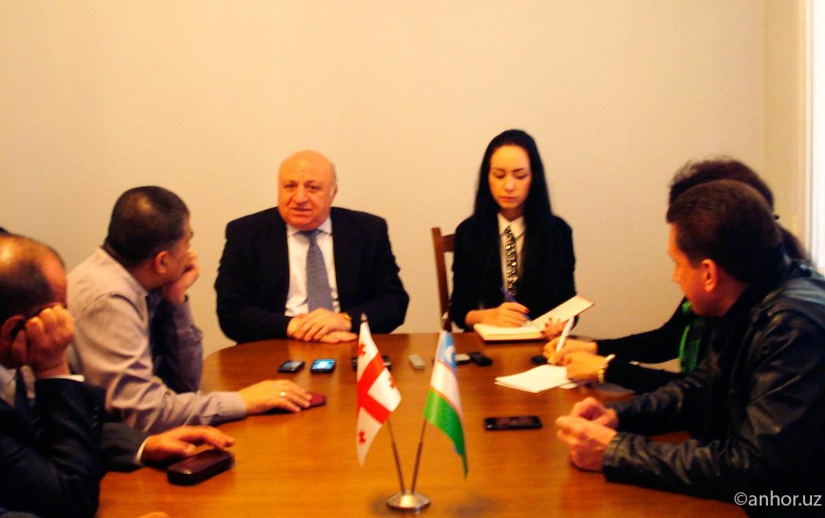 Посол Грузии в Узбекистане: о прямых рейсах