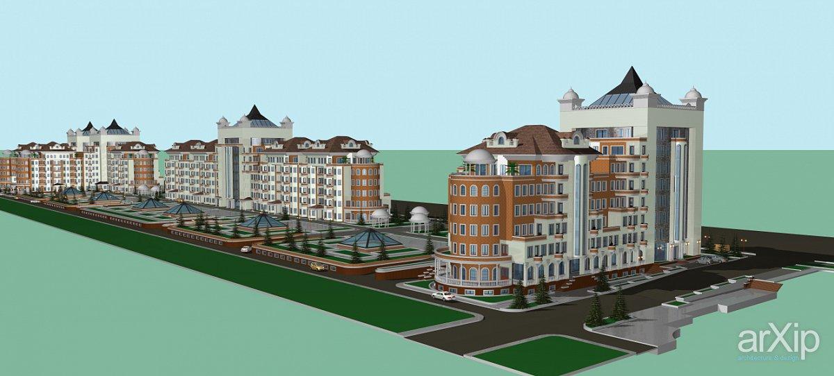 В центре Джизака строят 40 многоэтажных домов