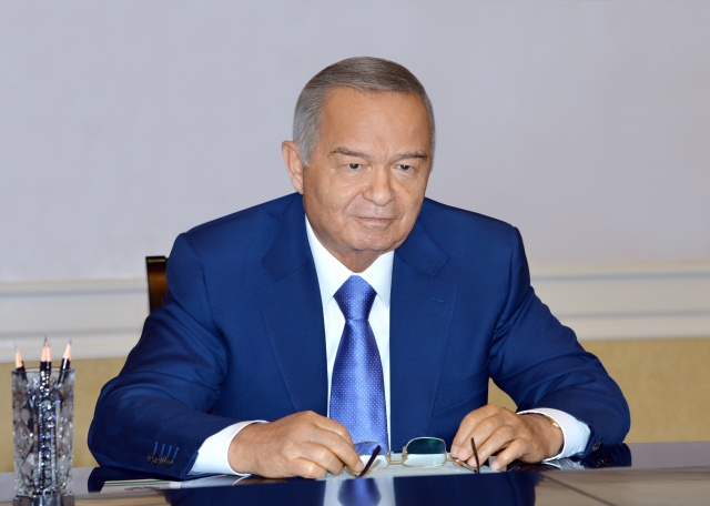 Президент Ислам Каримов принял генерала ВС США Ллойд Джей Остина III