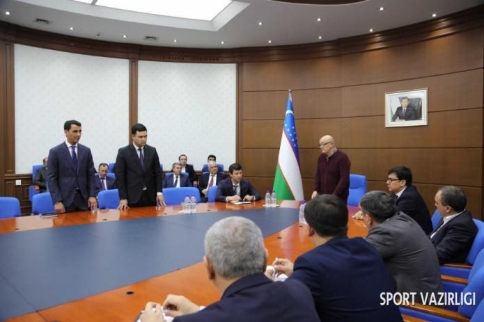 В министерство физической культуры назначены Равшан Ирматов и Эльбек Шукуров