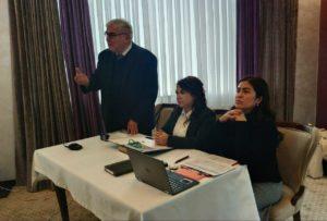 Встреча водно-экологических ННО с представителями Госкомэкологии Республики Узбекистан