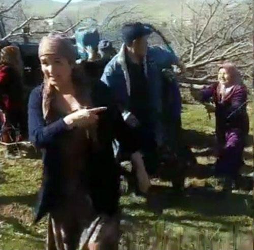 Бывшие владельцы сада в Кашкадарье вышли на его защиту с камнями