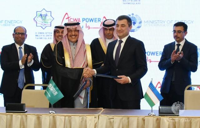 Узбекистан подписал соглашения с ACWA Power на сумму до 2 млрд долларов