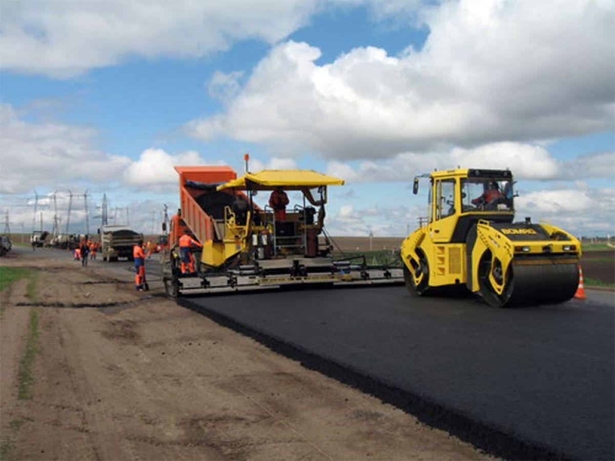 За 6 месяцев было реконструировано 152 километра дорог общего пользования