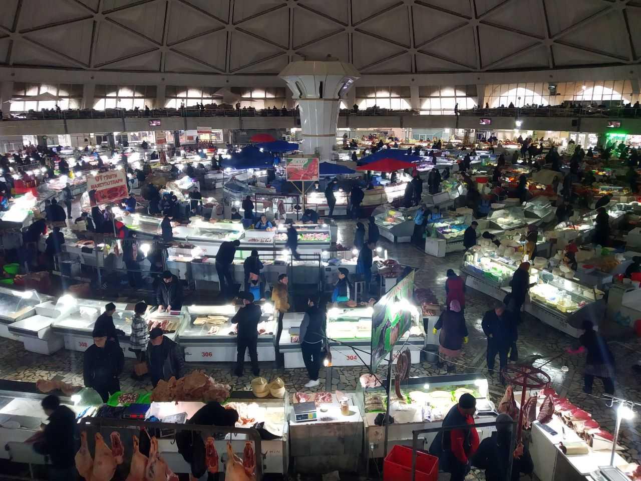 Ташкентский хокимият: Рынки работают в обычном режиме