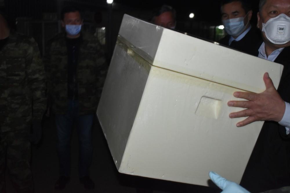 Узбекистан передал гумпомощь Кыргызстану