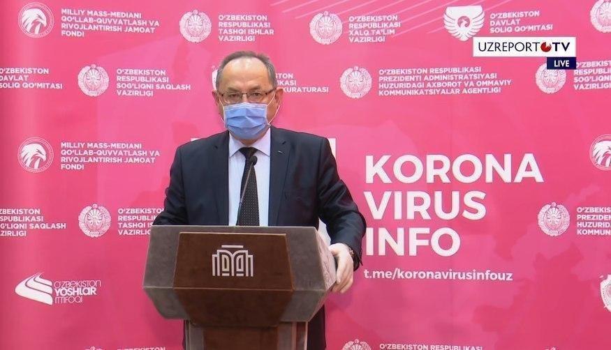 В Узбекистане не осталось ни одного региона не затронутого коронавирусом