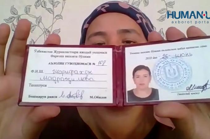 Генпрокуратура изучает случай с журналисткой из Ферганской области