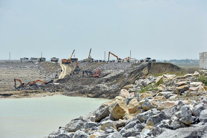 СГБ займется расследованием прорыва дамбы Сардобинского водохранилища