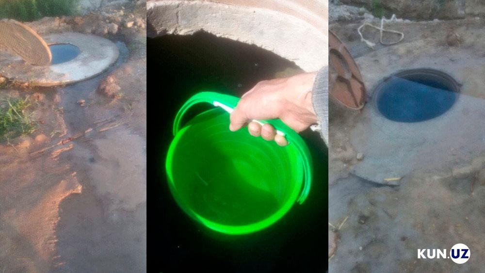 Жители Янгиарыкского района Хорезмской области получают питьевую воду один раз в день