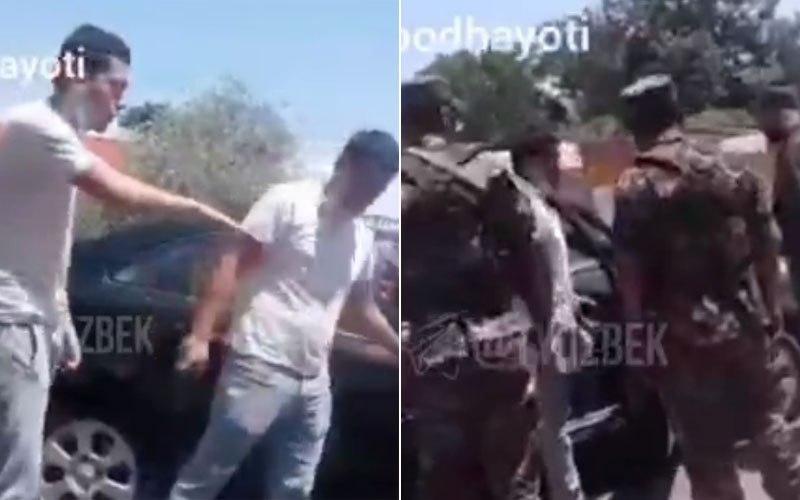 В Бекабаде на 15 суток арестованы двое граждан за оскорбление сотрудников санэпиднадзора