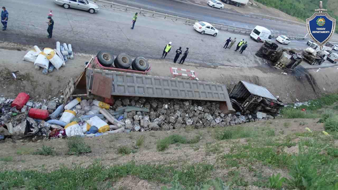 В Наманганской области в ДТП погибли три человека