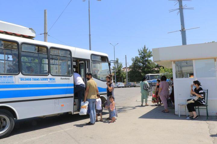 Самарқандда жамоат транспорти ишга тушганидан кейин 7 та йўналиш бўйича автобуслар фаолияти тикланмади